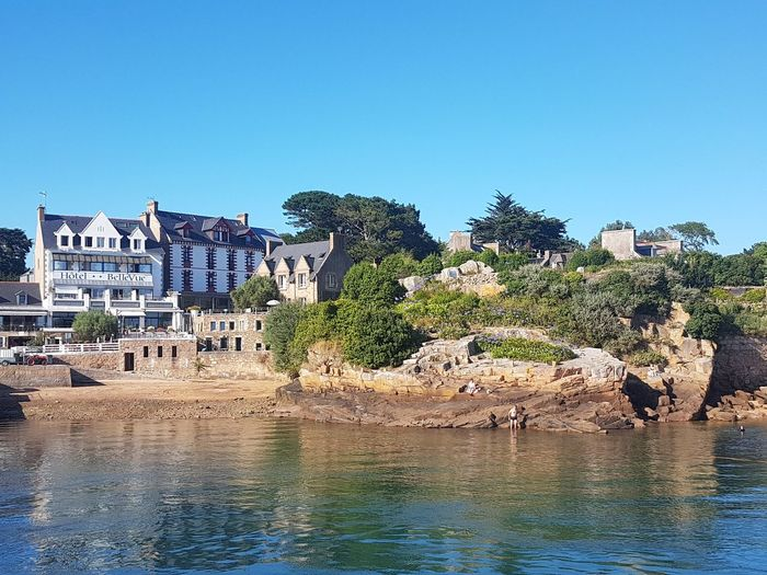 Landscape View Travel #picture #photography #journey #mood Travel Destinations Bretagne France Water Beach Reflection Sky Calm