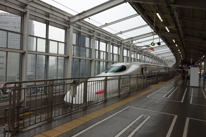 Japan Shinkansen Bullet Train Train Travelling Japan
