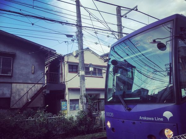 Japanese  Train Tokyo Metro Machiya Blue Blue Sky Going To Shopping With My Baby <3 Love Turn To Autumn Chill A Bit I Love The Autumn Sky Feel Higher Eye4photography  EyeEm Gallery Japanese Old House Traditional