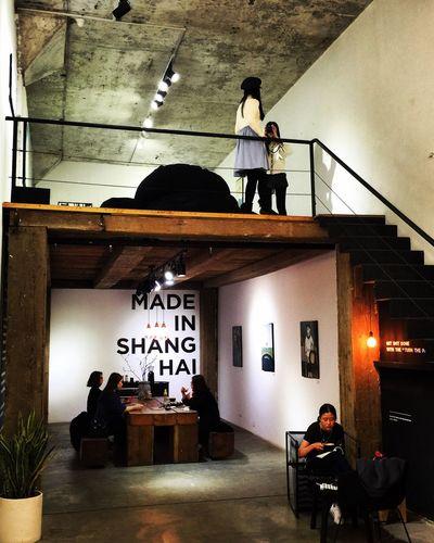 Shanghai Art Gallery Cafe Shop M50