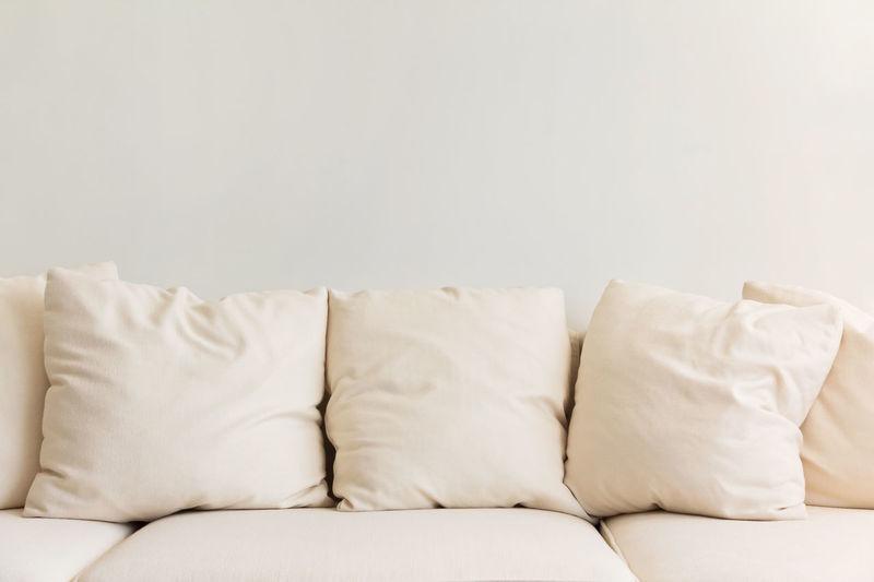 Close-up of sofa