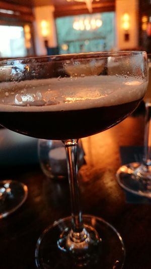 Alcohol Drink Close-up Food And Drink No People Indoors  Drinking Glass Day Espresso Martini Freshness Happy Hour Cocktail Refreshment Wineglass Delicious Martini Food And Drink Indoors  Espresso Martinis Focus On Foreground Temptation