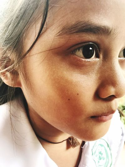 EyeEm Selects Maria ❤️ Childhood One Person Human Eye Child Human Face Close-up Real People Headshot Elementary Age Girls Portrait Human Body Part Boys Children Only Indoors  Day People