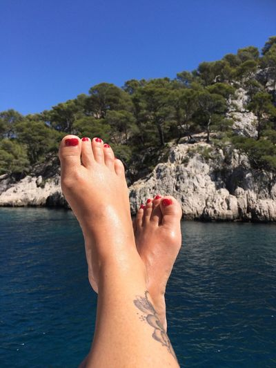 Poupoupidou 🐳😍❤️🐬☀️😎⛵️💏❤️ The Week On EyeEm Water Voilier Clear Sky Nature Le Bonheur  Firts Eyeem Photo The Photojournalist - 2017 EyeEm Awards Beauty In Nature Amour ❤ Folie Douce Calanques  Rêve Blue Plaisir Bonheur Tranquility Sensual 💕 Ocean