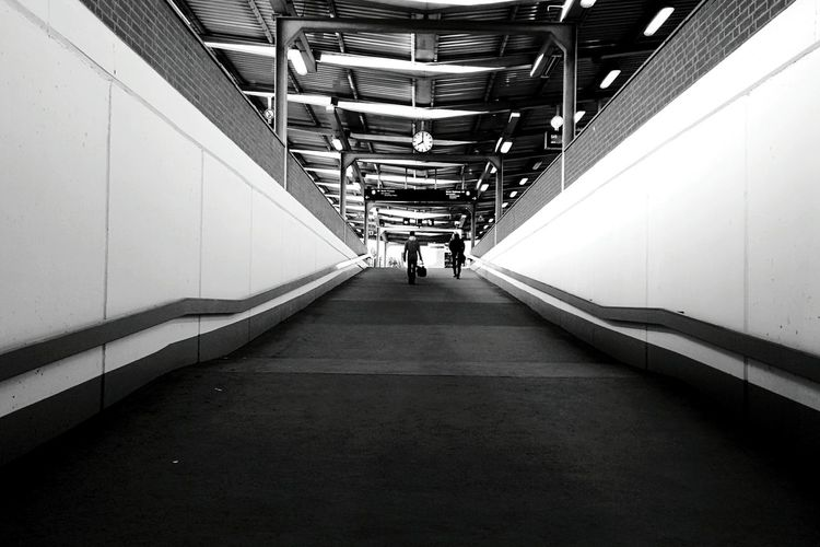 Day 224 - Back from Köln Berlin Blackandwhite Streetphotography Streetphoto_bw Lines Geometry 365project 365florianmski Day224