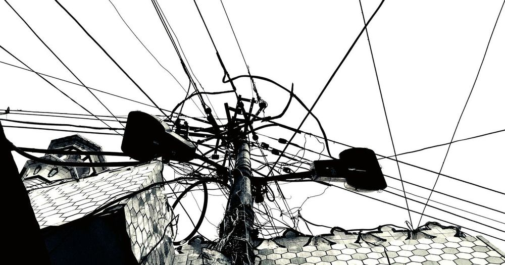 Single Life Many Problems. Life Like A Single Phillar And Wires Like So Many Problems. Black And White Outdoors Tranquility Creative Light And Shadow Bhawan Phaguwala Sangrur Blackandwhite Photography Mobilephotography Photography #photo #photos #pic #pics #tagsforlikes #picture #pictures #snapshot #art #beautiful #instagood #picoftheday #photooftheday #color #all_shots #exposure #composition #focus #capture #moment