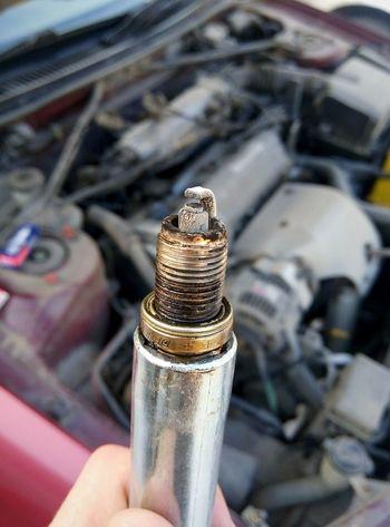 Spark Plug Macro Car Parts Close-up Repairing Auto Mechanic Extreme Close-up Mechanic Wrench  Focus Repairman Electrician