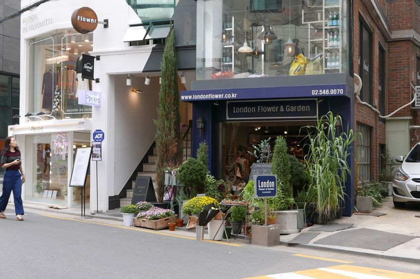 London in Seoul Londonflower Garosugil Seoul Flowershop