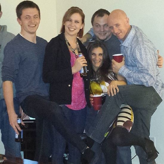Annual 2013 Freelance Dysfunctional Family Holiday Party its always a small group and ends in craziness
