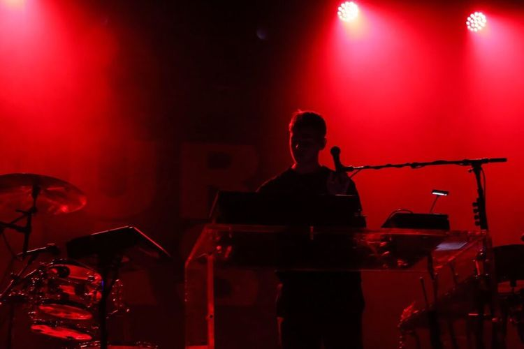 Music Event Stage - Performance Space Nightlife Arts Culture And Entertainment Real People Musician Oakland California Fox Theater Mura Masa