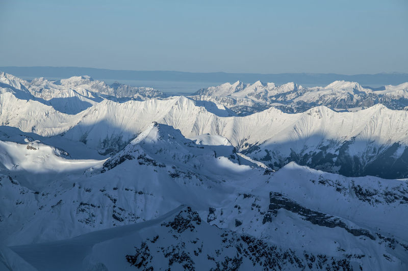 Snowcapped Mountain Cold Temperature Snow Winter Mountain Range Mountain Landscape Alps Swiss Alps Physical Geography Extreme Terrain Mountain Peak Outdoors Schilthorn