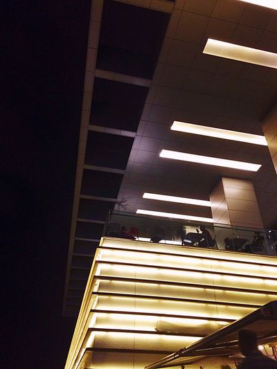 Urban Geometry Light Shopping Architecture