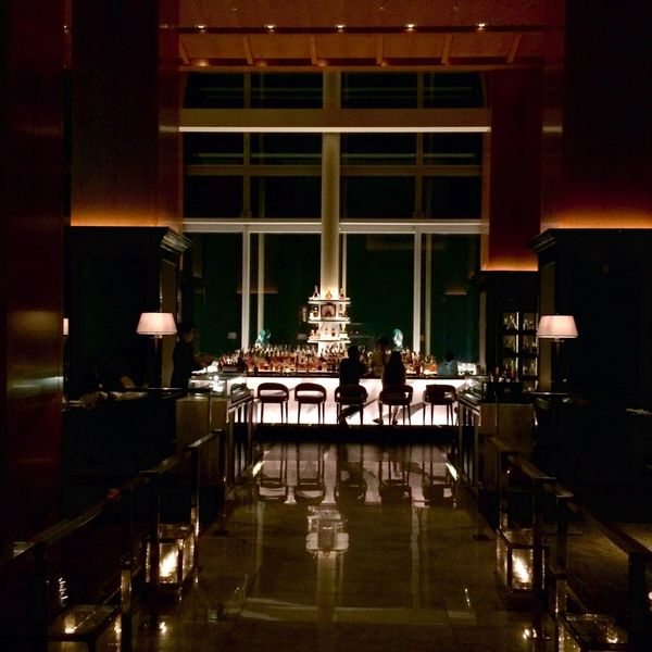 Drinks taste best with a view Sky Bar Having A Drink Luxury Nightlife Light And Shadow Reflection Traveling Ultimate Japan
