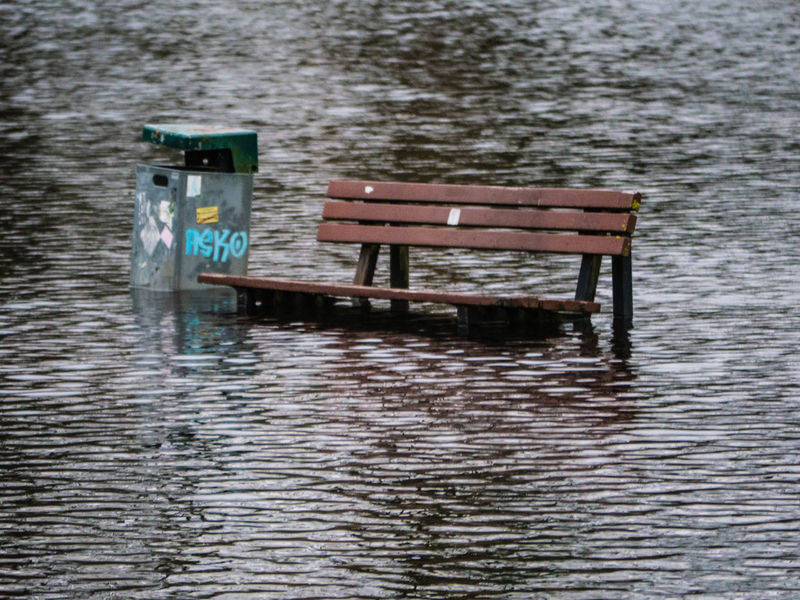 Here comes the flood Bench No Filter Rotenburg Day Flood Flooding Nature No People No People 😇😇😇 Outdoors Rotenburg An Der Wümme Water Water_collection Waterfront Wümmewiesen The Photojournalist - 2018 EyeEm Awards