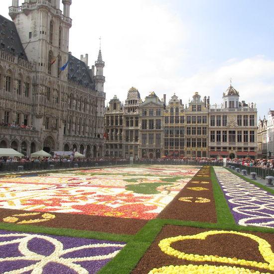 Flowerscarpet Brusselsbelgium Grandplacebrussels