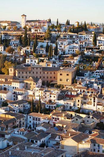 SPAIN Granada Albaicin View