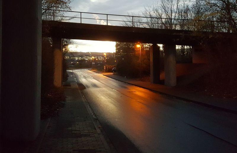 silent road HUAWEI Photo Award: After Dark City Footpath Lonly Outdoors Silence Sky Stillstanding Street Wet