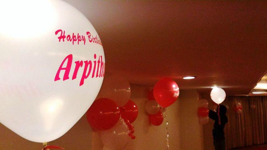 Birthday blast with arpitha Birthdayparty BirthdayGirl🎂 Arpitha Balloons🎈