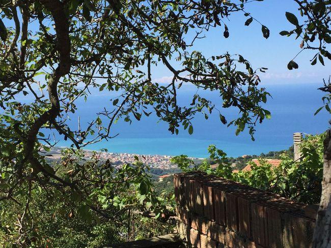 Calabria Sea And Sky Blue Beautiful
