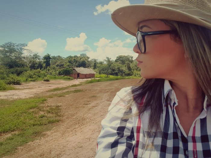 Piauí... Tree Rural Scene Young Women Women Eyeglasses  Sky Close-up Farmland Cereal Plant Barley Agricultural Field Cultivated Land Combine Harvester Tractor Rice Paddy Wiltshire Crop  Farm Wheat Ear Of Wheat