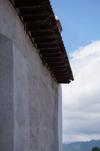 #church #pueblomagico #rooftop #tapijulapa Architecture Built Structure Cloud - Sky Day Nature Sky Travel Destinations