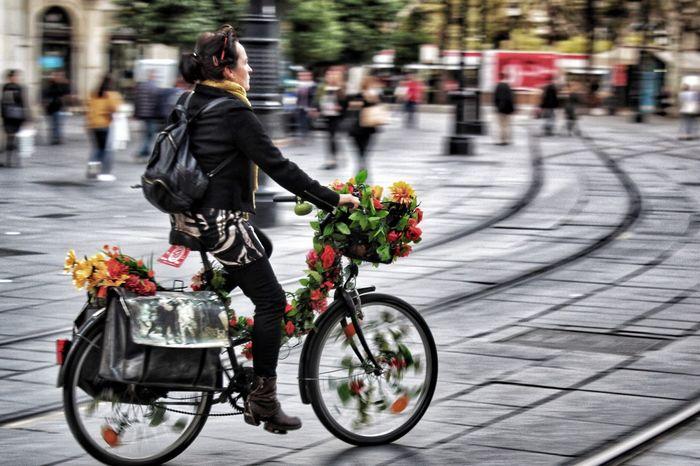 #Sevilla #España Outdoors Biker Flower Only Men Real People