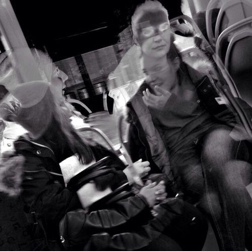 if you stay Public Transportation Gothenburg Blackandwhite People