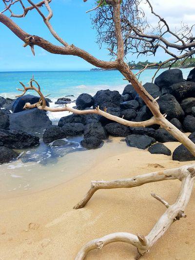 Maui Eyemphotography EyeEmNewHere Maui Beach Ohana ❤ Beach Sea Sand Day Nature Outdoors No People Water Sky Tranquility Beauty In Nature Scenics Horizon Over Water