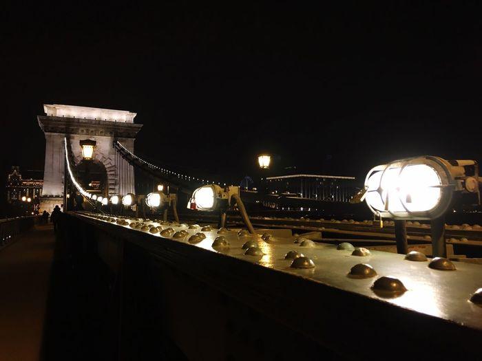 Chainbridge Night Lights