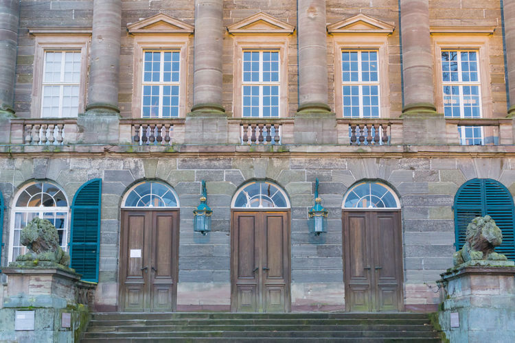 Castle Doors Kassel Kassel Wilhelmshöhe Stairs Stairway Architecture Building Exterior Built Structure City Collumns Day Famous Place Museum No People Old Outdoors Pillars Portal Schloss Wilhelmshöhe Wilhelmshoehe Wilhelmshöhe Window Windows
