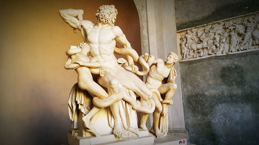 Laocoon and his sons, Rome. Rome Vatican Italy Laocoon Cunaka Demirefe