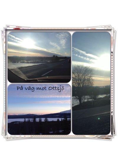 På väg upp till Ottsjö :)