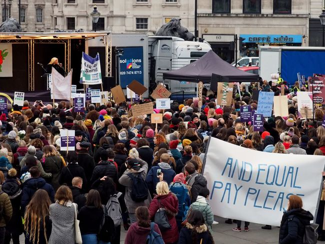 Womens March. London. 19/01/2019 LONDON❤ Equality Womens March Womens March 2019 Womens March London Protesters Protest London News Stevesevilempire Steve Merrick OM-D Olympus Crowd Large Group Of People Text Communication Group Of People Real People Women