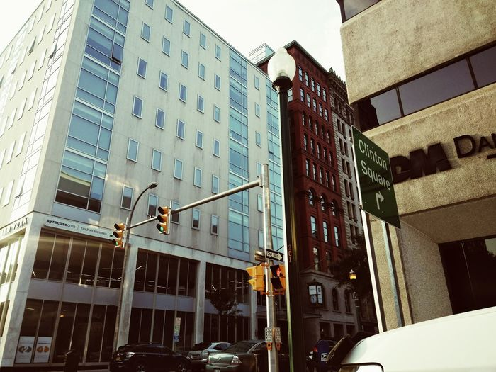 Downtown Syracuse NY, Clinton Square Building Exterior