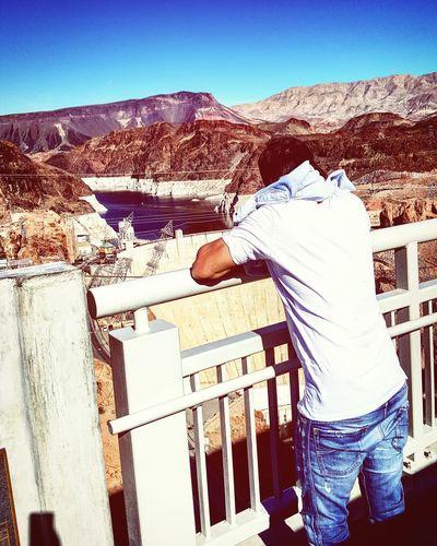Hoover Dam Checking In Las Vegas