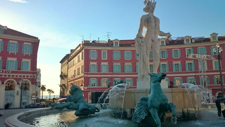 Fountains City Nice Winter? City Walk
