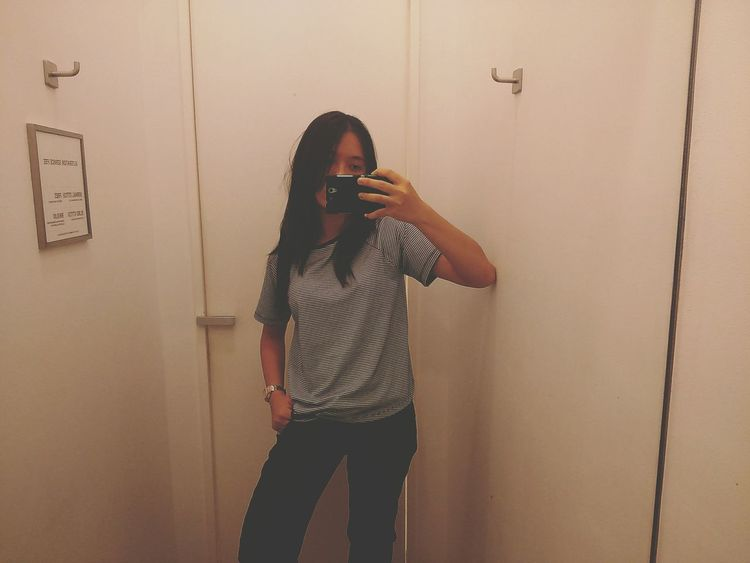 First Eyeem Photo Fashion Photography Beyourself Fitting Room Joggerpants Sonyxperiac3