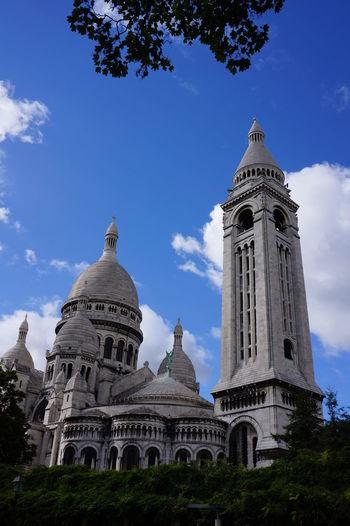 Dome Architecture City Sky Travel Destinations No People History Outdoors Day Paris Montmartre Sacre Coeur