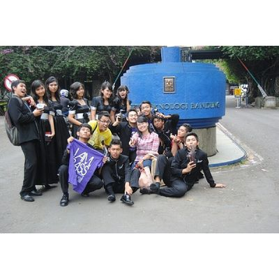 It's now for Throwback time! I'm taking you to a time (2 years ago exactly) when I was in high school, where most of your valuable moments were made. High school right?! So I start with this photo. This photo was taken in Bandung (In front of ITB to be exact), when I and my choir fellows joined an International Choir Competition in Institute of Technology, Bandung. It was such an incredible moment for me and us that in the youngest age of our life we could join a competition like this. Never thought that we could make it to the next level. Fps ITB TBT  2012