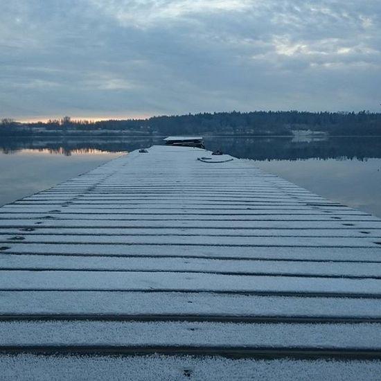 Ziemā nāk! Beidzot Lielvardes_osta Daugava Lielvarde Nofilter