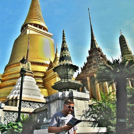 Bangkok me & my lovely Vania Golden Pagoda Travel Photography Travel