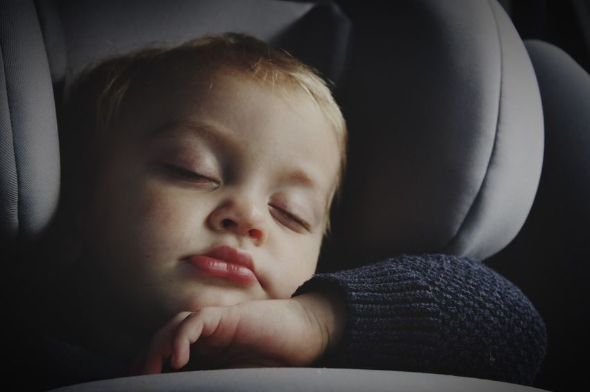 Baby Sleeping Baby  Peaceful Sweet Dreams Nap Time Travelling Sleeping Toddler Asleep Car Seat Comfy  Quiet Q