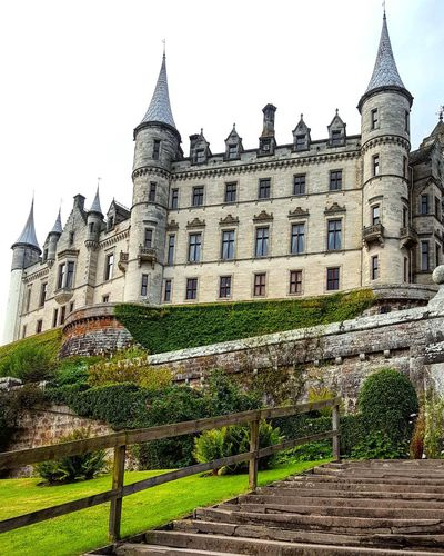 Architecture Building Exterior History Travel Destinations Castle No People Built Structure Outdoors Day Tree Sky Copy Space Travel Photography Tranquil Scene Escape From Reality Scotland Dunrobin Castle