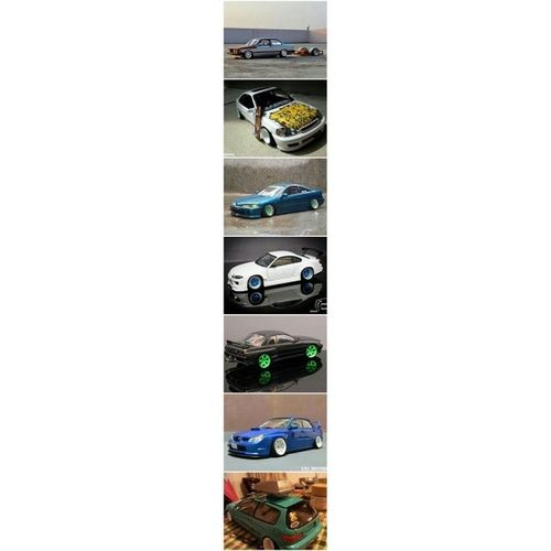 Modelcar Import Tuners Slammed awesome cool Dope