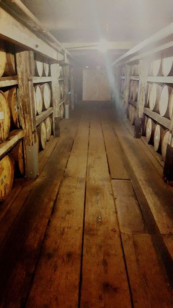Buffalo Trace Whiskey Barrels whiskey