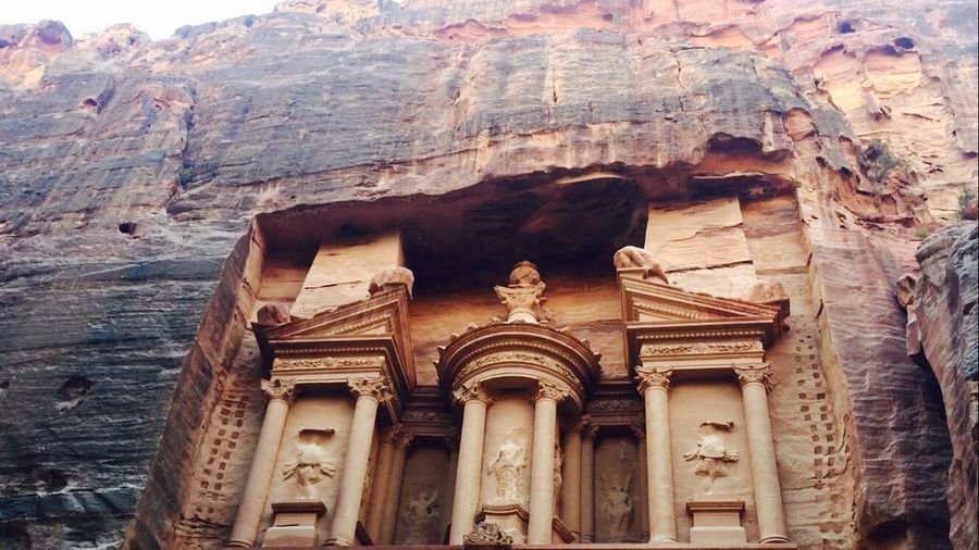 The Treasury of Petra Art And Craft Architecture History Creativity Petra Battle Of The Cities