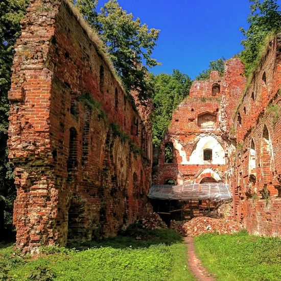 Castle Ruins Kenigsberg