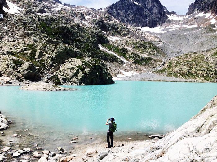 Mountains Hiking Hiking Trail Summertime Lac Blanc Chamonix The Great Outdoors - 2016 EyeEm Awards
