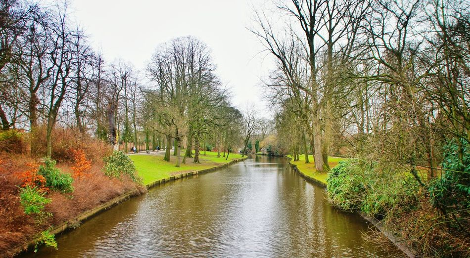 Canal Waterway Outdoors Garden Fall_collection No People Netherlands Valkenburg