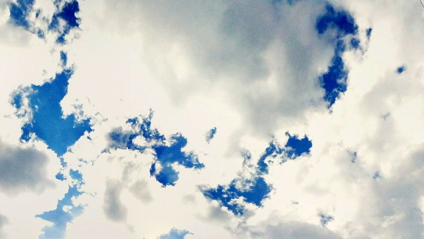 Low Angle View Cloud - Sky Sky Nature Cloudy Beauty In Nature Scenics Day Cloudscape Blue Cloud Outdoors Cumulus Cloud Fluffy Fluffy Clouds @wolfzuachis Ionitaveronica Wolfzuachis Eyeem Market Panoramic Sky Showcase: 2016 Showcase: September Cloudscape White Clouds And Blue Sky Blue Sky And White Clouds TK Maxx Socksie